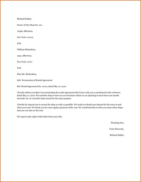 Rental Agreement Letter Image Collections Download Cv Letter And Format Sle Letter Lifetime Lease Agreement Template