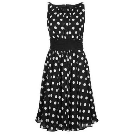 swing kleid mit punkten schwarzes kleid mit weissen punkten