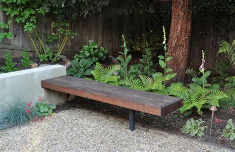 modern garden bench fresh with a touch of cozy the garden bench