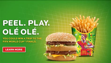 Instant Win Mcdonalds - ways to get free mcdonald s world cup ole ole peel game pieces saving advice