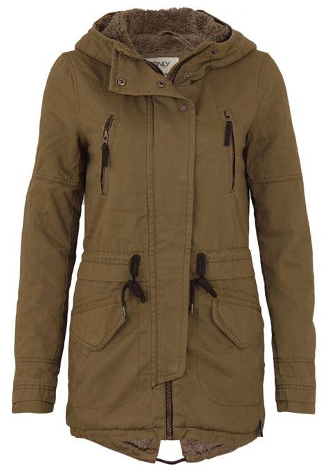 Jacket Parka Bahan Canvas s jacket onlleeona canvas parka jacket winter outdoor ebay