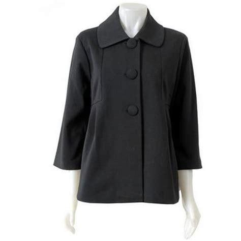 womens swing jacket 20 winter coats under 50 black rivet women s 3 button