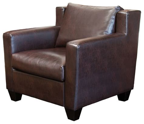 brown leather chesterfield armchair chesterfield brown leather club chair traditional armchairs and accent chairs by