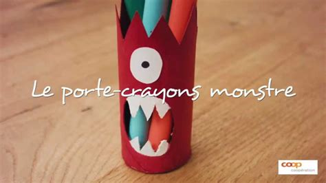 brico lade bricolage le monstre crayons