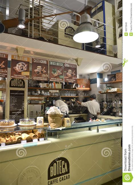 Italian Coffee Shop Editorial Image   Image: 30373940