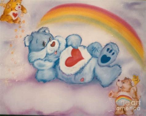 Care Bears Twinkle Painting By Geri Jones