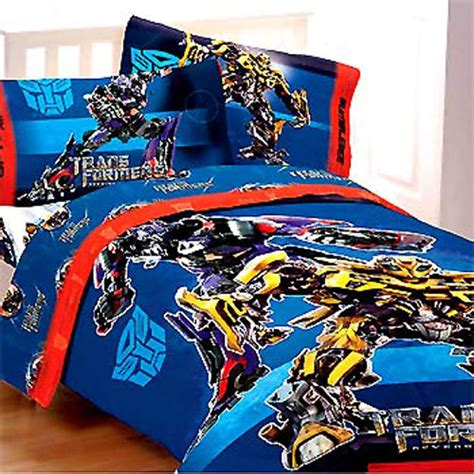 Transformers Twin Comforter Bumble Bee Autobots Boys Transformers Bedding