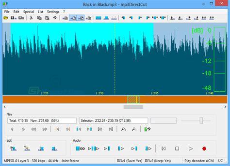 mp3directcut download gratis 22 free digital audio editors to download in 2017 hongkiat