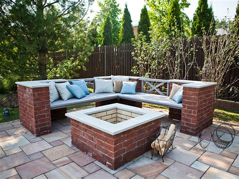 stone patio bench design bench platform in backyard raised deck made from pallets