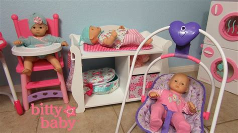 baby alive changing table bitty baby doll washer dryer changing table high chair