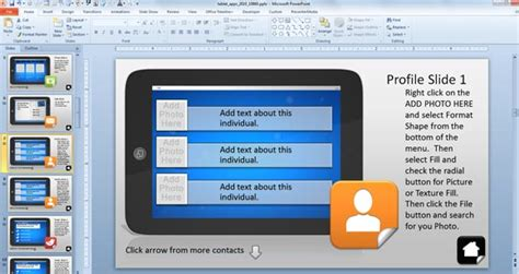 powerpoint interactive templates using interactive powerpoint presentations with tablet