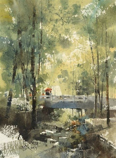 painting workshop scenery 495 best landscapes in watercolour images on
