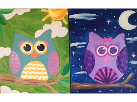 paint nite kid friendly woburn recreation summer painting classes patch