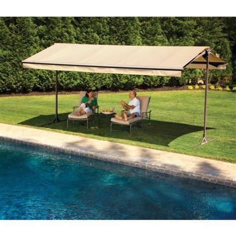 sunsetter oasis freestanding awning 220 ber 1 000 ideen zu freistehende markise auf pinterest
