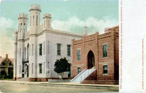 Marysville Court Records Postcards From Yuba County California