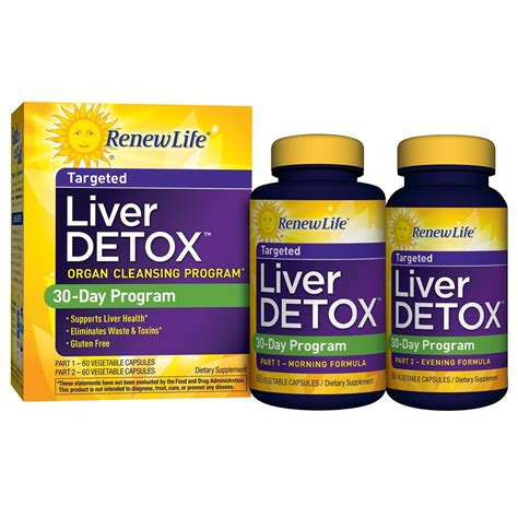 Renew Liver Detox by Renew Daily Multi Detox 120 Veggie Caps