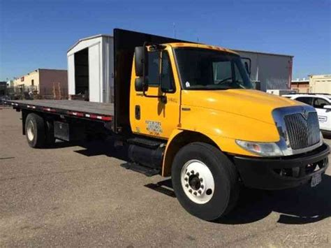 penske truck leasing used commercial trucks heavy duty international 4300 2008 flatbeds rollbacks