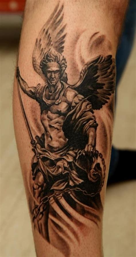 guardian angel tattoo for men 100 s of guardian design ideas pictures gallery