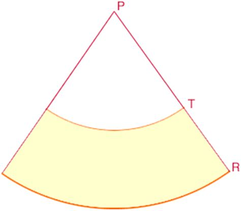 flat pattern cone shape a lshade from a cone
