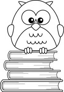cartoon owl coloring pages cliparts