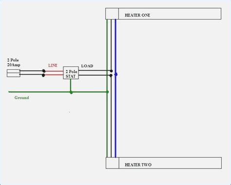 Wiring Diagram For Baseboard Heaters