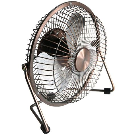 home depot desk fan maxxair 6 in usb desk fan in bronze hvdf6ups the home depot