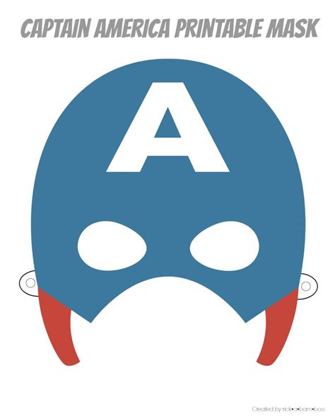 captain america helmet template captain america mask wings template pictures to pin on