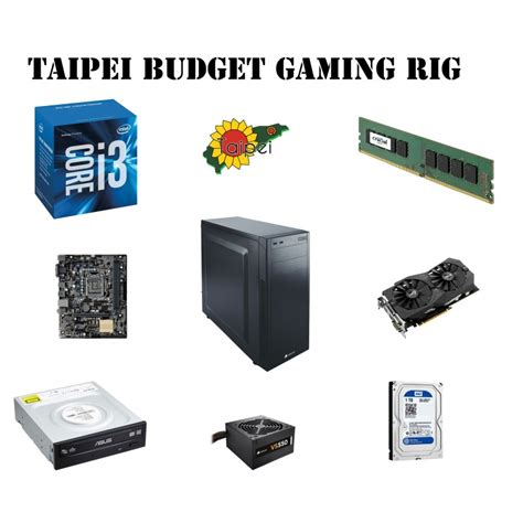 Low Budget E Sports Gaming Pc taipei budget gaming rig taipei for computers