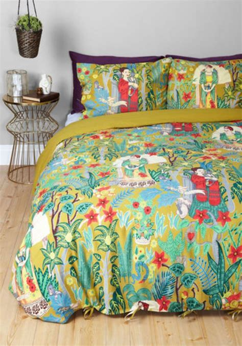 karma living bedding boho paint me a picture duvet cover set in full queen by
