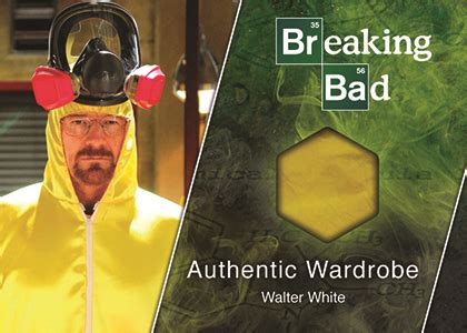 Bad Wardrobe by 2014 Cryptozoic Breaking Bad Trading Cards Checklist Set Info Boxes