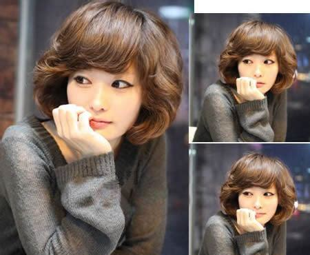 before and after korean short perm hairstyle korean perm hairstyle for short hair