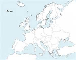 Outline Map Of Europe Physical by Europa Karte Vector Der Kostenlosen Vektor