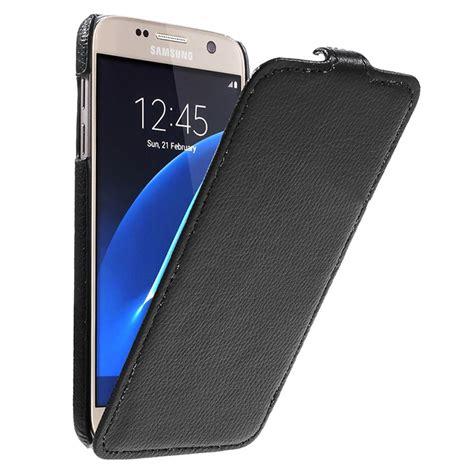 Flipcase Goospery Leather Book Flip Casing Samsung Galaxy S7 Edge samsung galaxy s7 slim vertical flip black