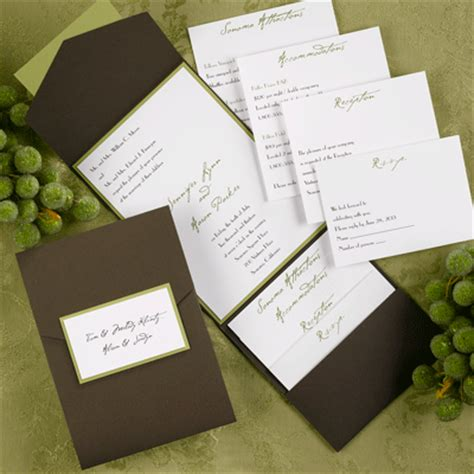wedding invitation with pocket invite your guests with a great design of your pocket