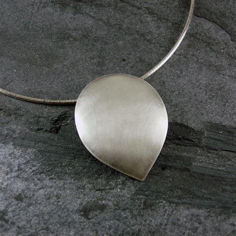 petal pendant light petal silver pendant by camali design