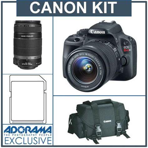 deal : canon eos rebel sl1 bundle sale at adorama for $744