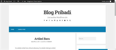 tutorial membuat website sekolah dengan wordpress wordpress johanes surya