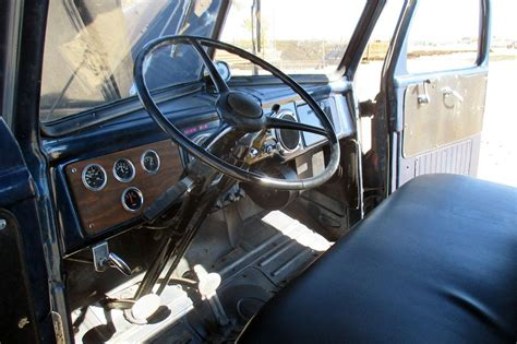 survival truck interior survivor truck 1950 dodge b 2
