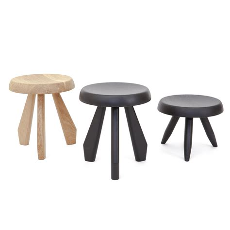Cassina Tabouret by Tabouret M 233 Ribel Cassina Biagetti