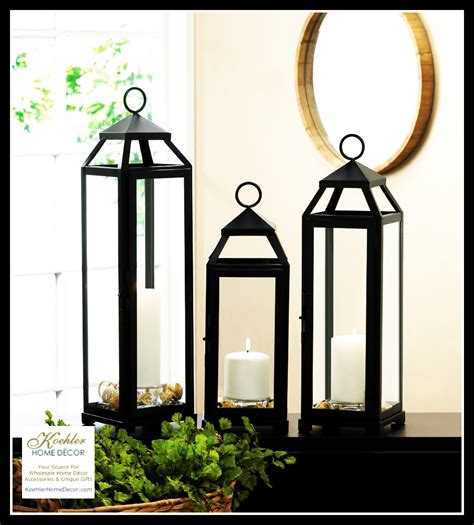 koehler home decor new at khd lean and sleek candle lanterns 183 koehler home
