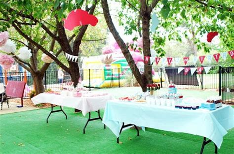 Simple Outdoor Decorations by Yard Decorations For Birthday Some Tricks And Tips