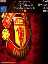 themes blackberry manchester united free blackberry storm 9530 9530t manchester united