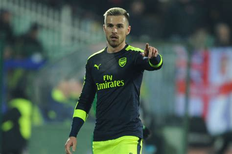 wales and arsenal fc star aaron ramsey explains exactly arsenal star aaron ramsey chris coleman delighted to have