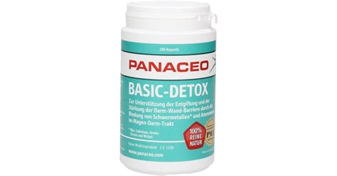 What Is Detox H by Basic Detox Kapseln 180 Kapseln Panaceo Vitalabo