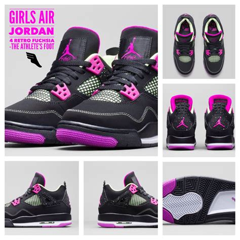athlete s foot in shoes air 4 retro fuchsia the athlete s foot