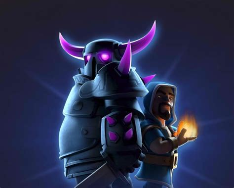 Clash Of Clans Wizard C003 pekka and wizard tandem clash of clan