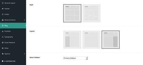 edit portfolio layout x theme setting blog layout portfolio layout zozo theme