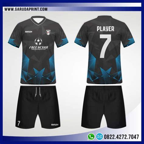 desain baju futsal biru hitam desain baju bola futsal 96 reazor garuda print