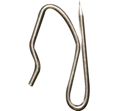 Recmar 4138 stainless drapery pin hook 14 bag stainless steel drapery hooks curtain tracks com