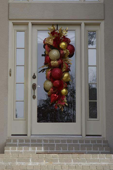 image result  winter swag  front door front door